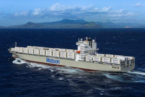 Matson's new vessel 'Daniel K. Inouye'